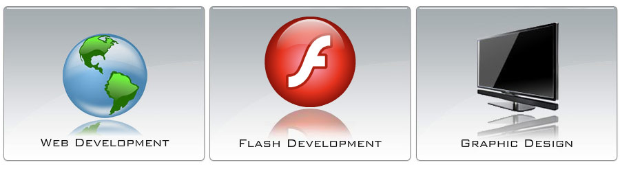 Web Development, Flash Development, Graphic Design